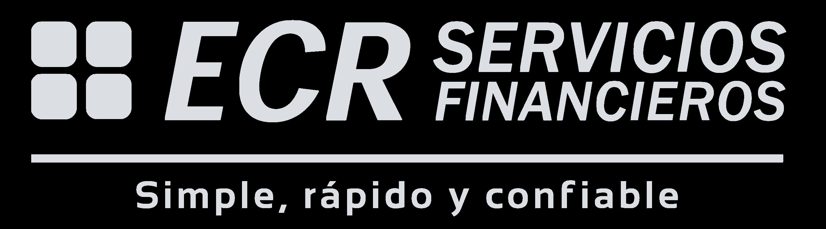 ECR logo gris